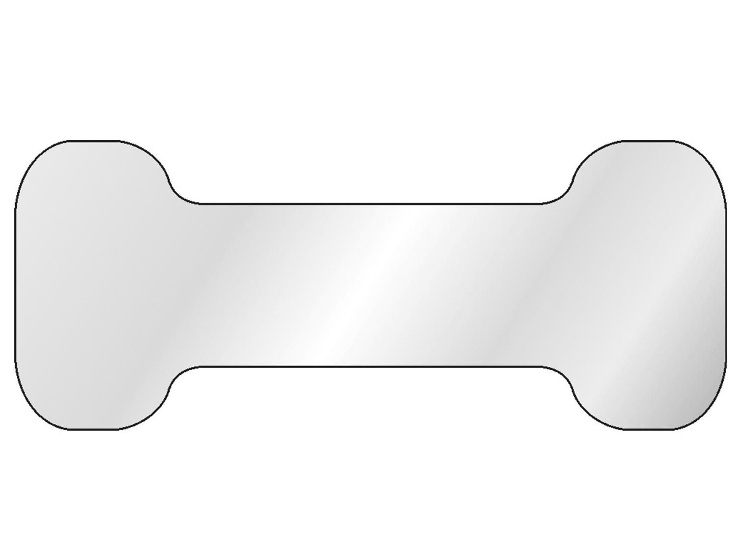 Profilierte Ausführung mit H-Profil.