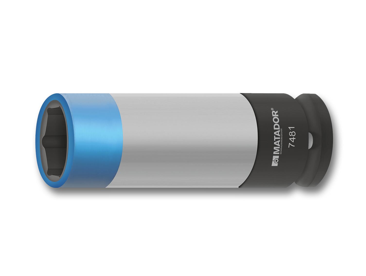 Slim-Power Alufelgen Kraftsteckschlüssel für Maschinenbetätigung mit MATADOR Smart Drive-Profil.