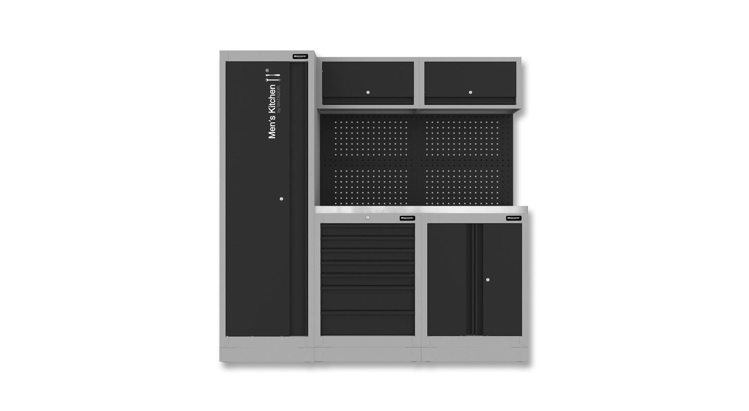 Men's Kitchen: COMPACT, 1.956 x 1.980 mm, MATADOR