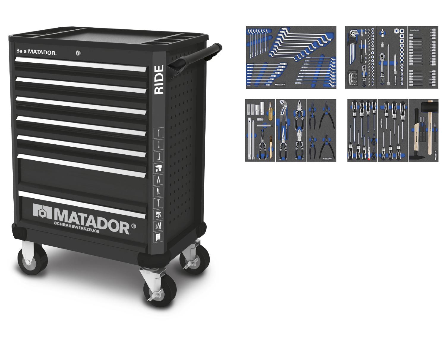 Ratio RIDE 219-tlg., MATADOR 81639220
