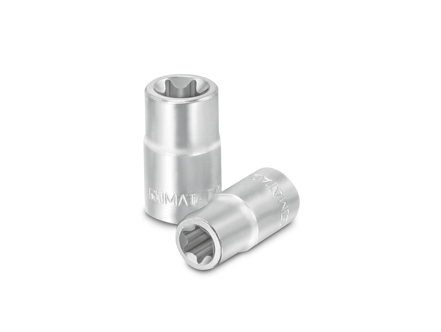 Steckschlüsselsatz mit Außen-TORX®-Profil