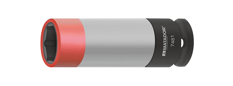 Farblich codiert nach Schlüsselweite (17mm).