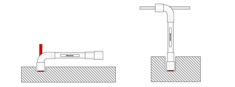 Pfeifenkopfschlüssel-Satz, MATADOR 0320