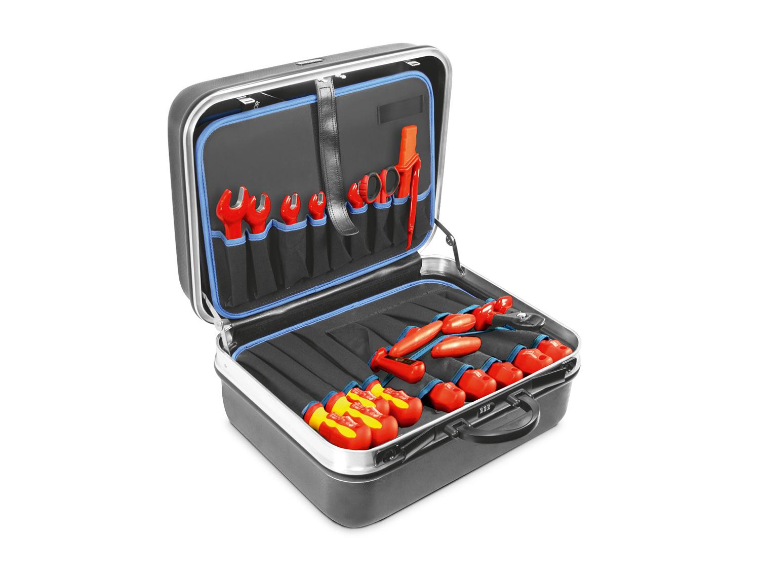 "Elektriker-Werkzeugsatz ""Automotiv"" 50- bzw. 51-tlg., MATADOR 8130"