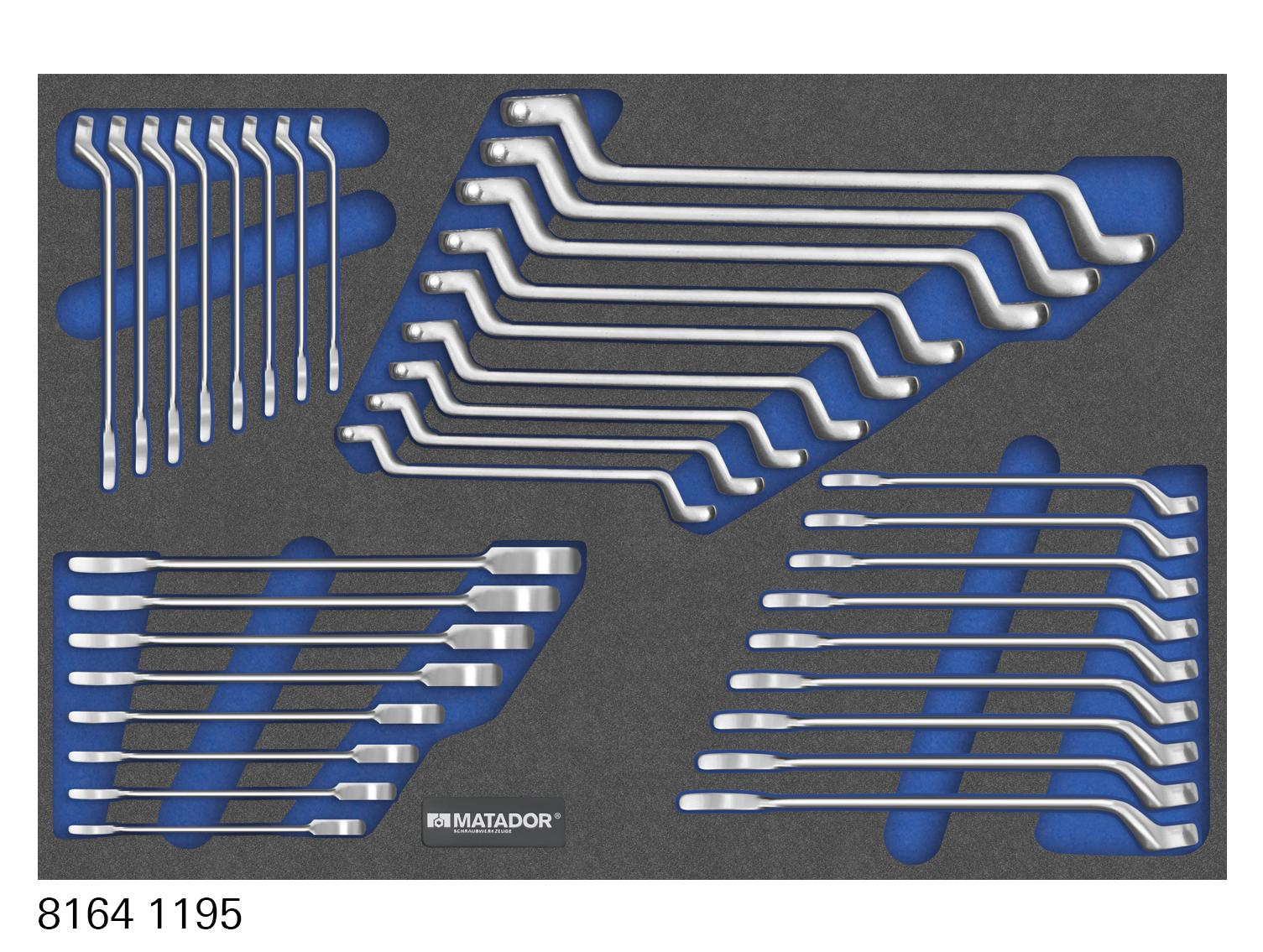 MTS-Modul mit den wichtigsten Schraubenschlüsseln.