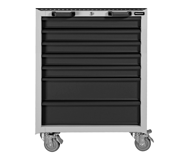 Men's Kitchen: Servicewagen 7 Schubladen, 676 x 963 x 459 mm, MATADOR 81522620