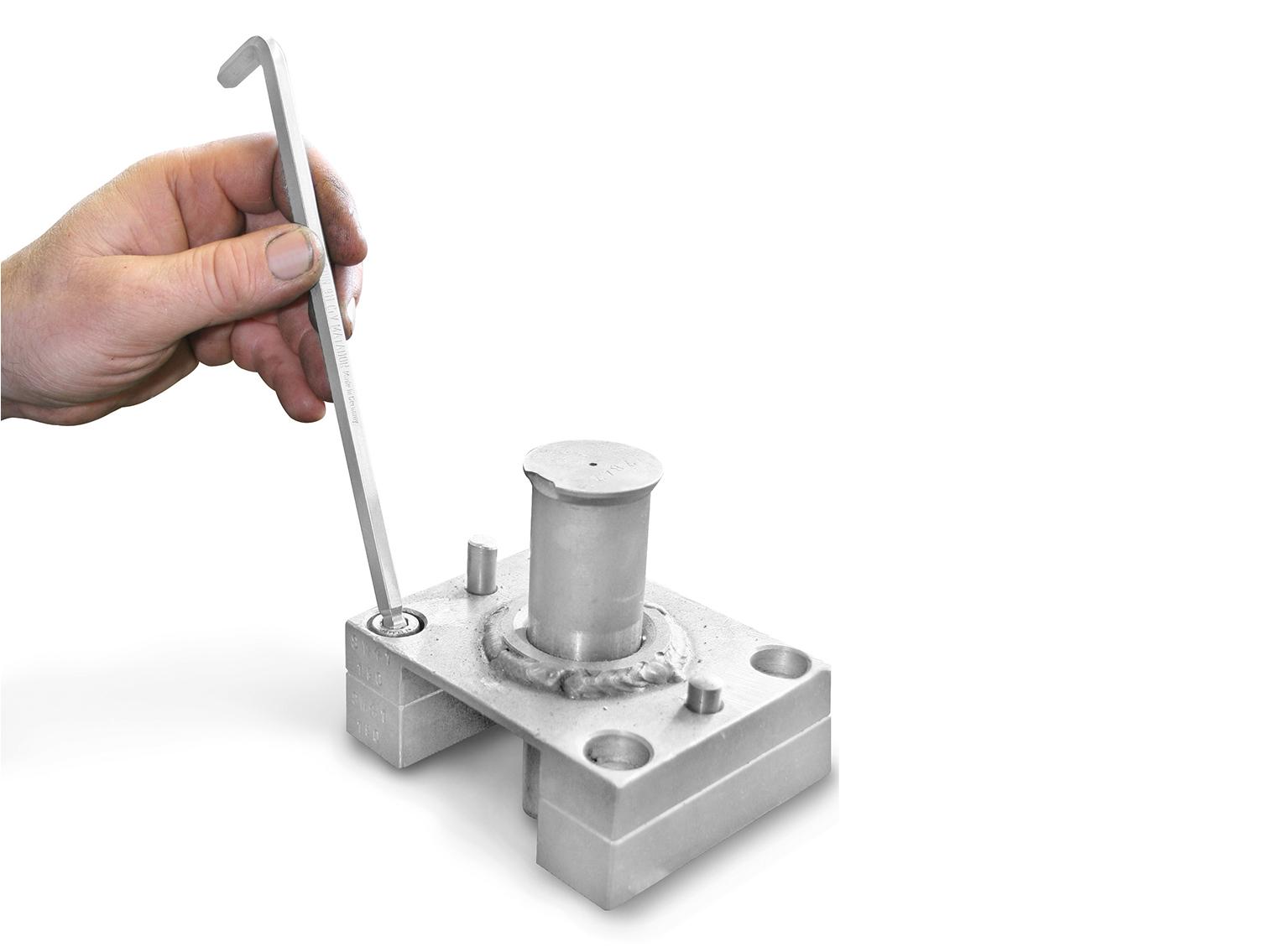 Ideal für schwer zugängliche Schrauben.