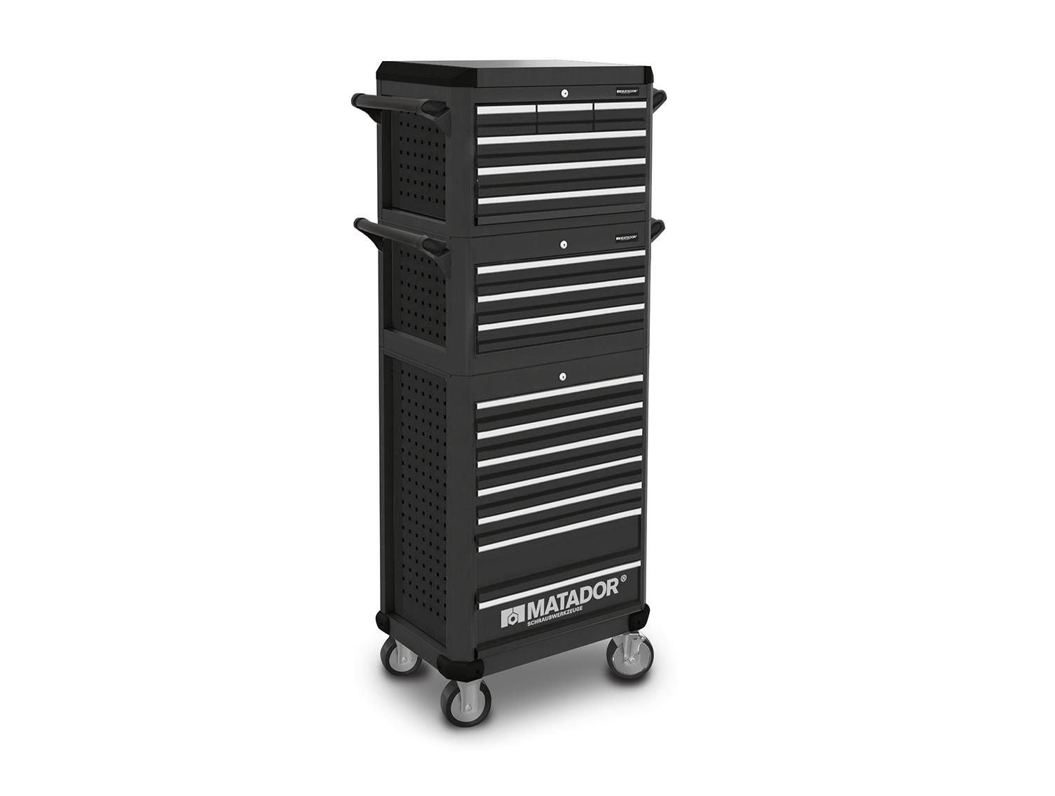 Erweiterbar zur echten Workstation mit 3 oder sogar 9 zusätzlichen Schubladen.