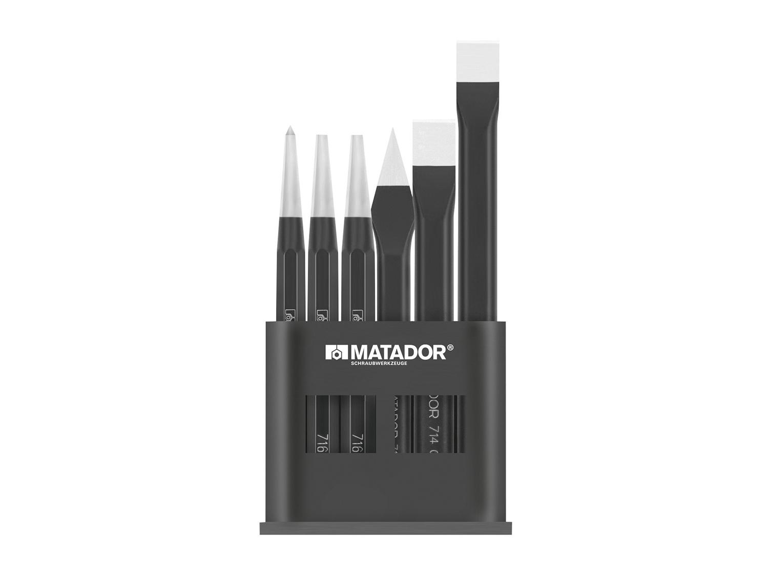Werkzeug-Satz, 6-tlg., MATADOR 07199060