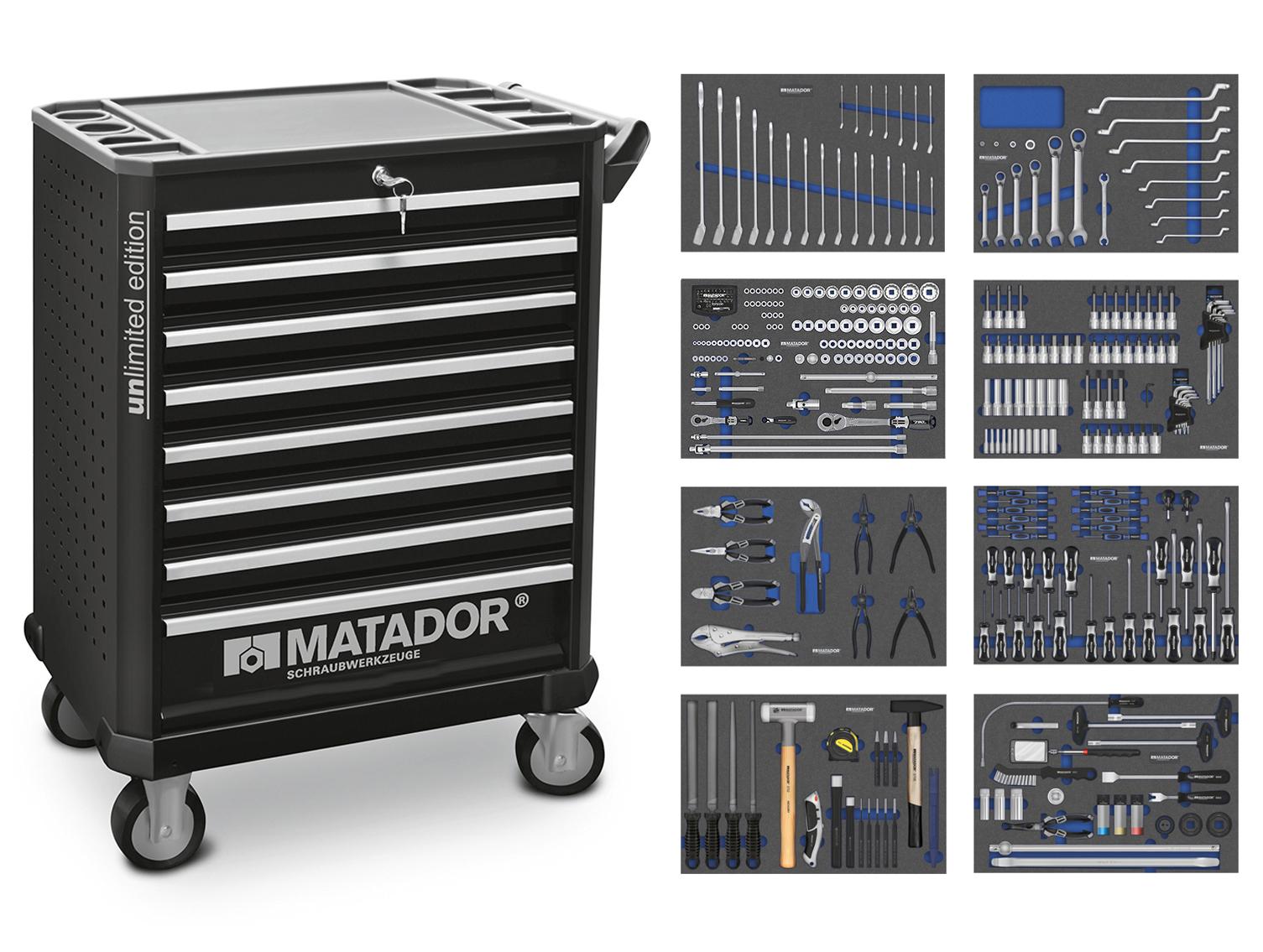 RATIO MTS unlimited edition 350-tlg. MATADOR 81639350