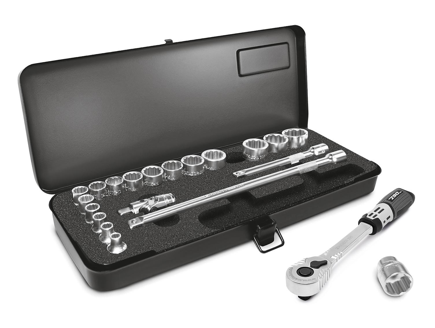 """Perfekte Größe: Werkzeuge und auch Box. 10 mm (3/8"""")."""