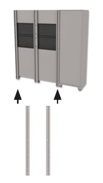 Men's Kitchen: Seitenstreben L/R 90x2000x30 mm MATADOR 81520098