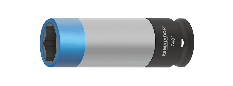 Farblich codiert nach Schlüsselweite (21mm).