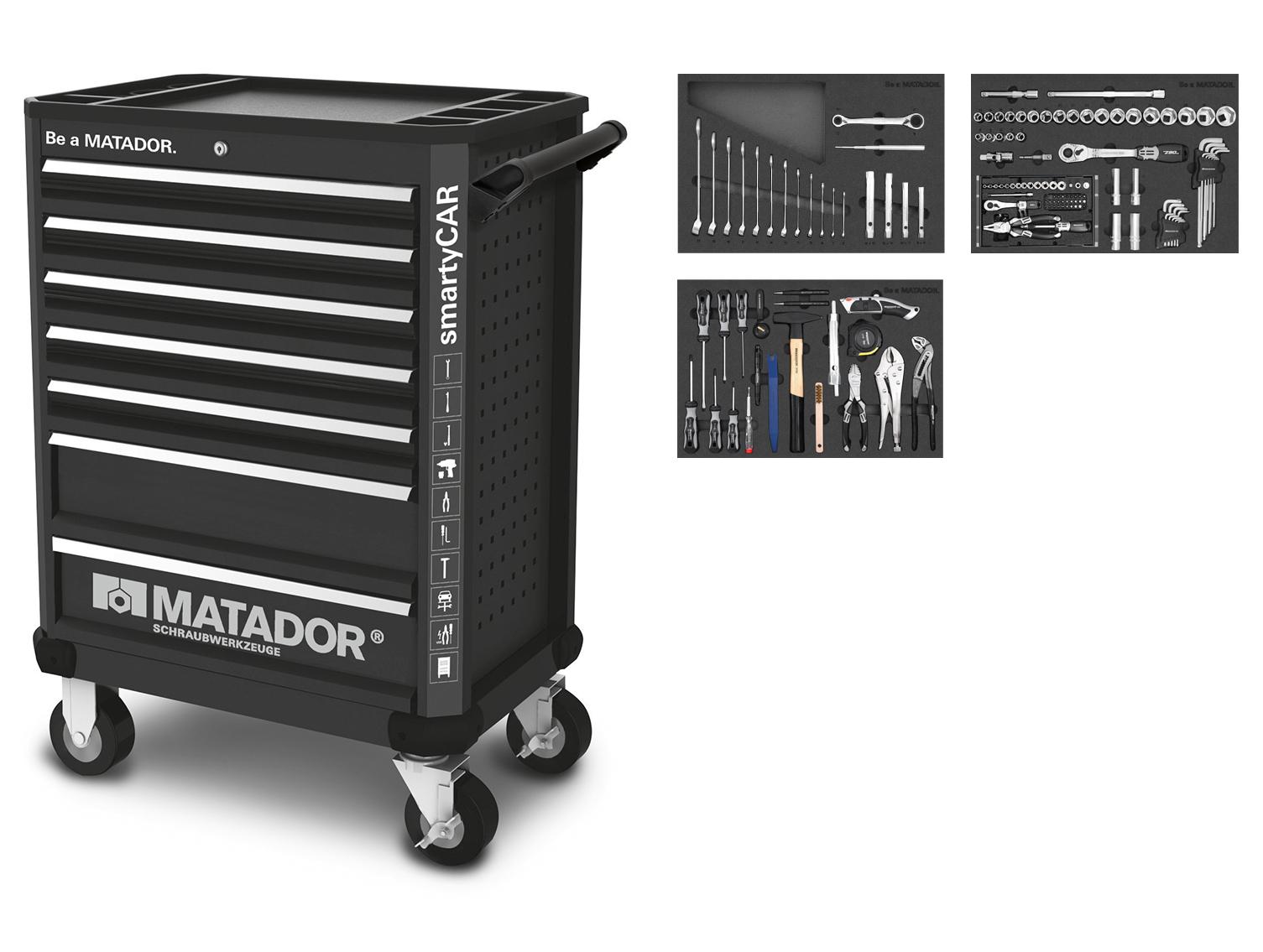 RATIO smartyCAR 150-tlg. MATADOR 81639150