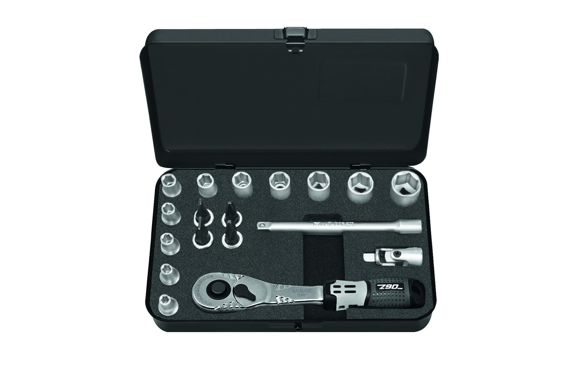 """Steckschlüsselsatz 6,3 mm (1/4""""), 6-kt., ECO, MATADOR 21109180"""