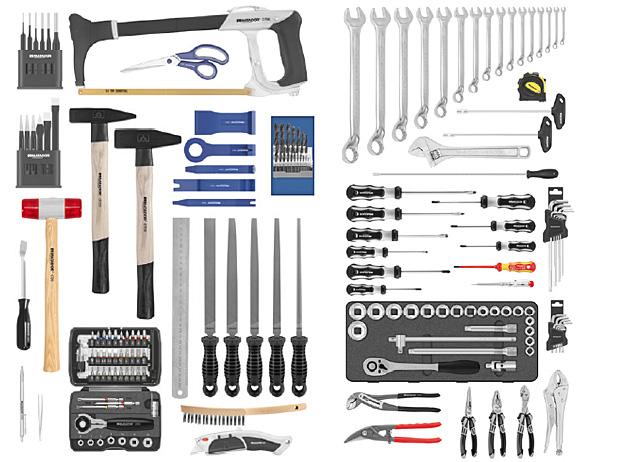 Werkzeugrollkoffer ALLROUND 185-tlg., 6 - 32 mm, MATADOR 81320185