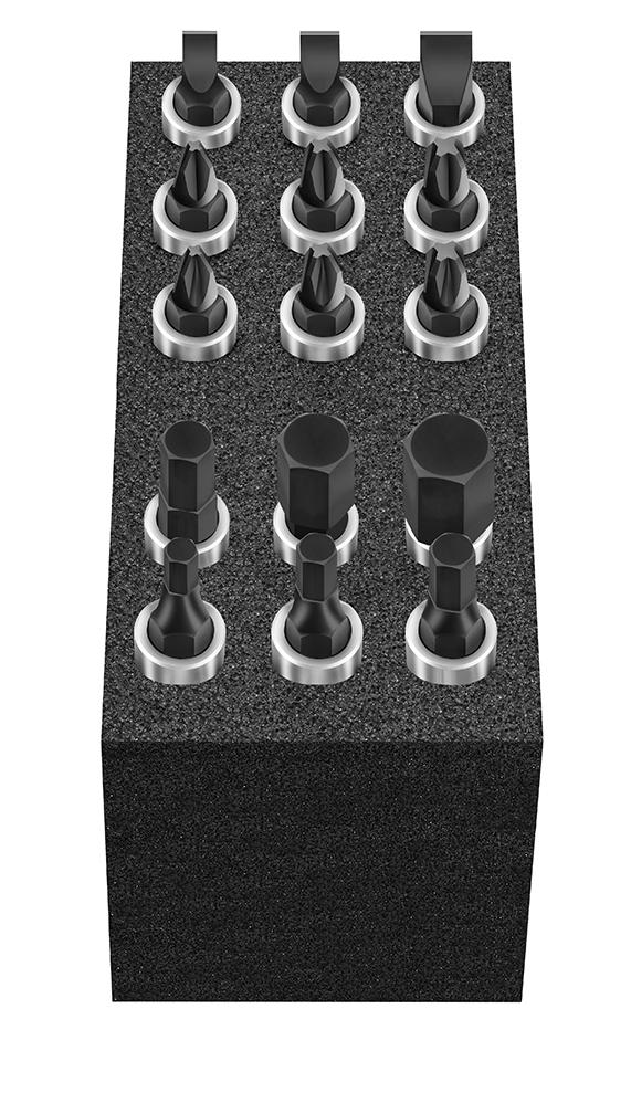 """Cube XS: Bit-Einsätze 15-tlg. 6,3mm (1/4"""") MATADOR 81502076"""
