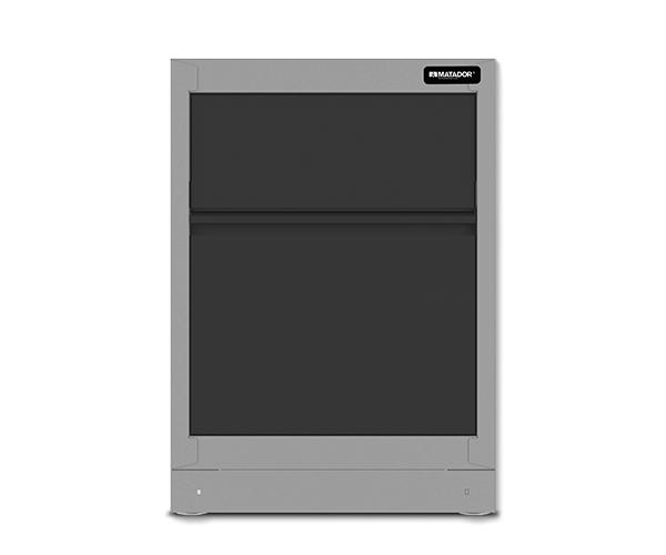 Men's Kitchen: Abfallschrank, 676 x 960 x 500 mm, MATADOR 81522604